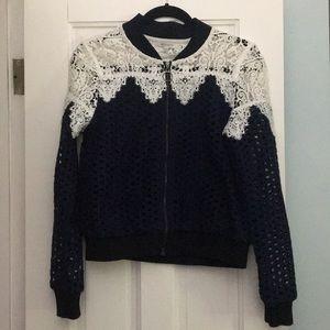 Mixed Lace Jacket
